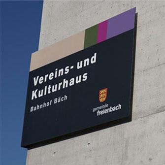 Fassaden Tafel Werbung